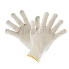 Перчатки хб 5 нитей 10 класс без ПВХ