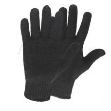Перчатки хб 6 нитей 10 класс без ПВХ черные