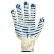 Перчатки хб 3 нити 7 класс c ПВХ
