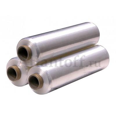 Стрейч пленка вторичная 500 мм 17 мкм 2 кг